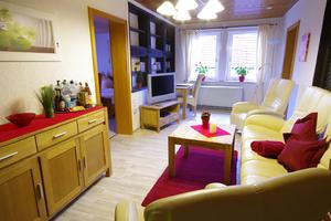 Schlafzimmer Bad Bevensen, Haus Curwage Amsel, Amsel Ferienwohnung