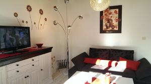 Ferienwohnung Amsel Wohnzimmer